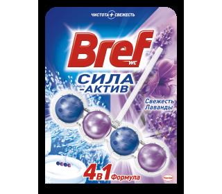 Средство чистящее BREF Сила-Актив для унитаза Свежесть лаванды, 50 г купить с доставкой в Новосибирске