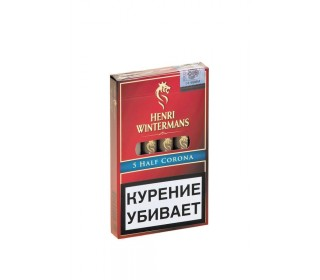 Сигары HALF CORONA, 5шт купить с доставкой в Новосибирске